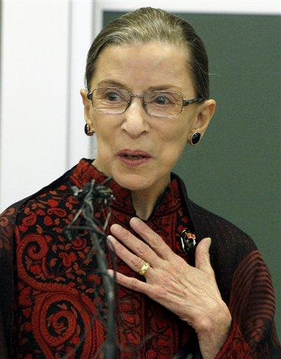 Ruth Bader Ginsburg. U201c